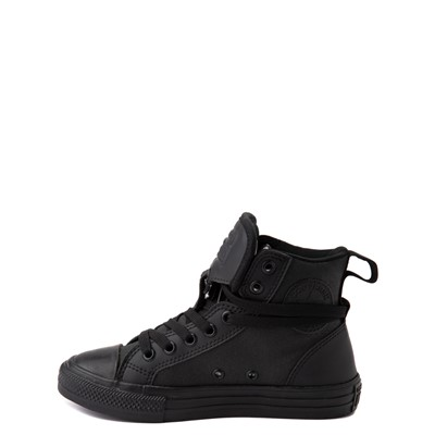 Alternate view of Converse Chuck Taylor All Star Hi Guard Sneaker - Little Kid - Black Monochrome
