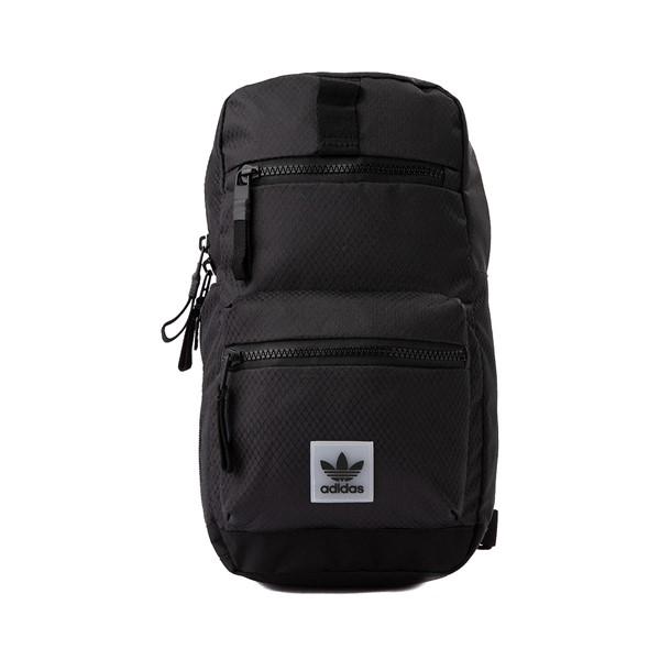 Main view of adidas Originals Utility Sling Bag - Black