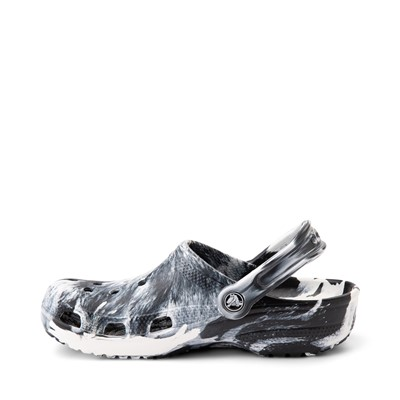 Alternate view of Crocs Classic Clog - Marbled Black / White