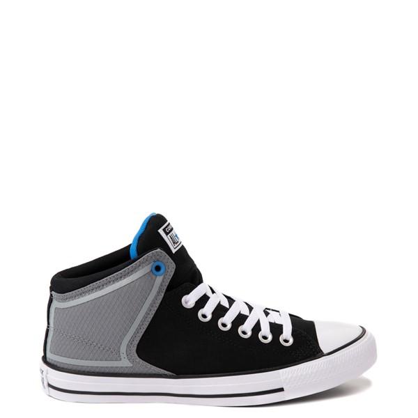 Converse Chuck Taylor All Star High Street Sneaker - Black / Grey / Blue