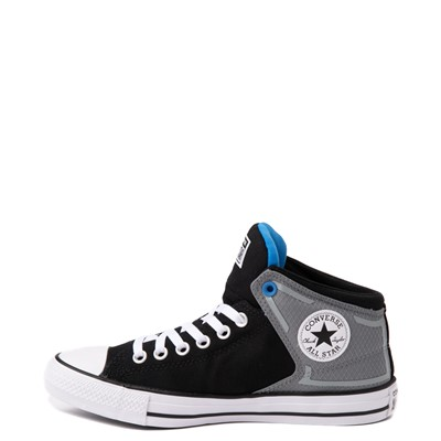 Alternate view of Converse Chuck Taylor All Star High Street Sneaker - Black / Grey / Blue