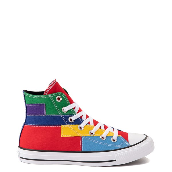 Main view of Converse Chuck Taylor All Star Hi Patchwork Color-Block Sneaker - Multicolor