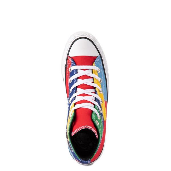 alternate image alternate view Converse Chuck Taylor All Star Hi Patchwork Color-Block Sneaker - MulticolorALT4B