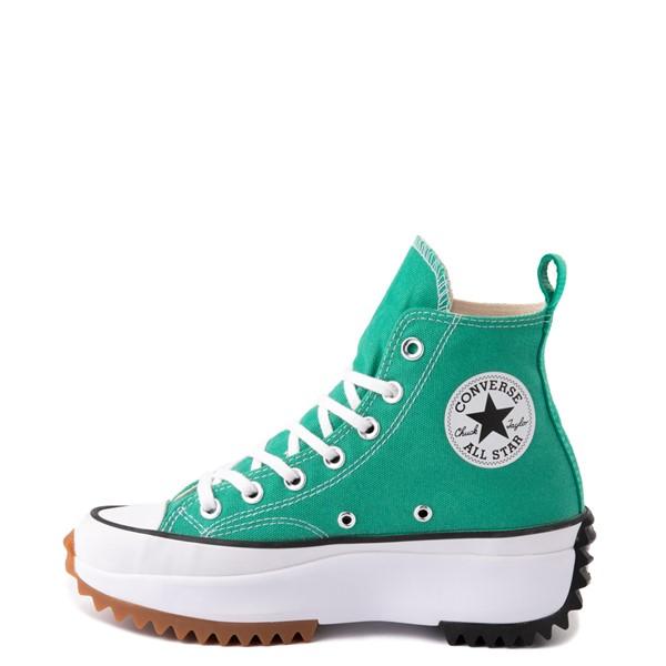 alternate image alternate view Converse Run Star Hike Platform Sneaker - Court Green / White / GumALT1