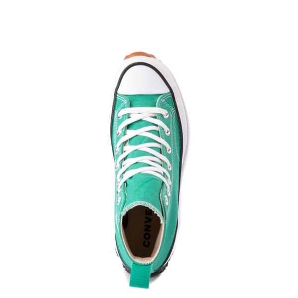 alternate image alternate view Converse Run Star Hike Platform Sneaker - Court Green / White / GumALT2