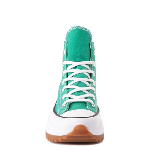 alternate image alternate view Converse Run Star Hike Platform Sneaker - Court Green / White / GumALT4