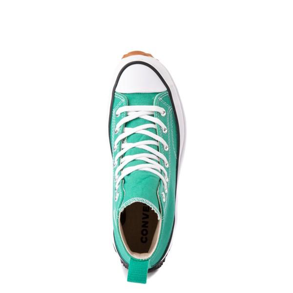 alternate image alternate view Converse Run Star Hike Platform Sneaker - Court Green / White / GumALT4B