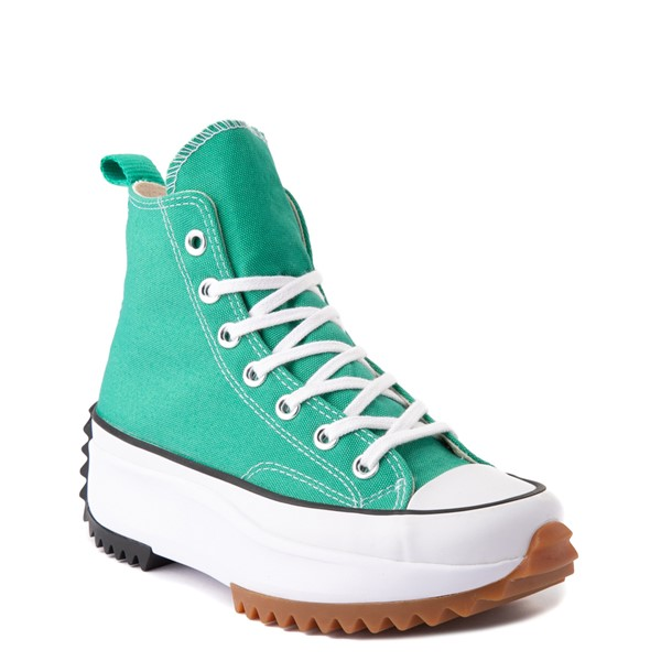 alternate image alternate view Converse Run Star Hike Platform Sneaker - Court Green / White / GumALT5