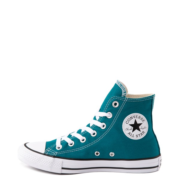 alternate image alternate view Converse Chuck Taylor All Star Hi Sneaker - Bright SpruceALT1