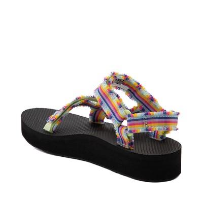 Alternate view of Womens Teva Midform Fray Sandal - Multi