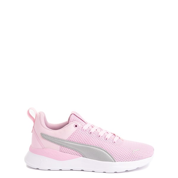 Main view of Puma Anzarun Lite Athletic Shoe - Big Kid - Pink / Silver