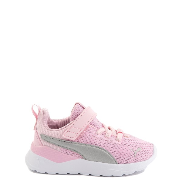 Main view of Puma Anzarun Lite V Athletic Shoe - Baby / Toddler - Pink / Silver