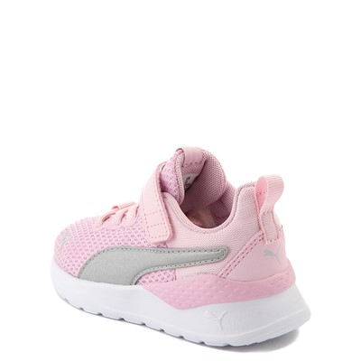 Alternate view of Puma Anzarun Lite V Athletic Shoe - Baby / Toddler - Pink / Silver