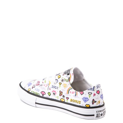 Alternate view of Converse Chuck Taylor All Star Lo Gamer Sneaker - Baby / Toddler - White