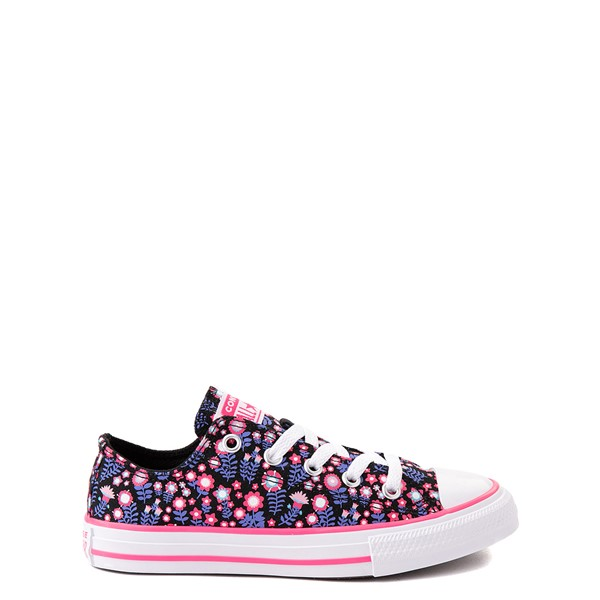Main view of Converse Chuck Taylor All Star Lo Sneaker - Baby / Toddler - Black / Floral