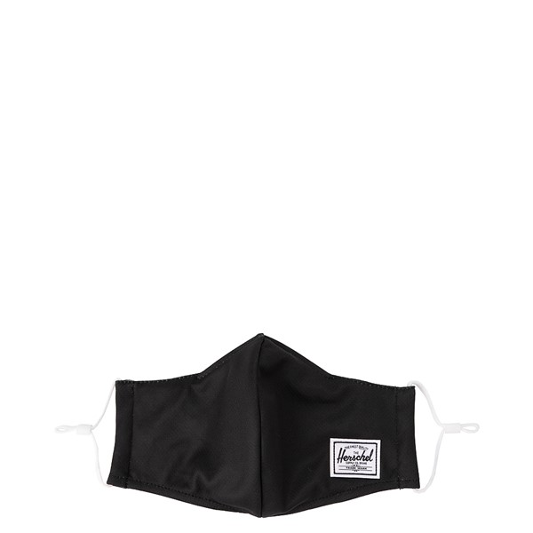 Main view of Herschel Supply Co. Classic Fitted Face Mask - Black