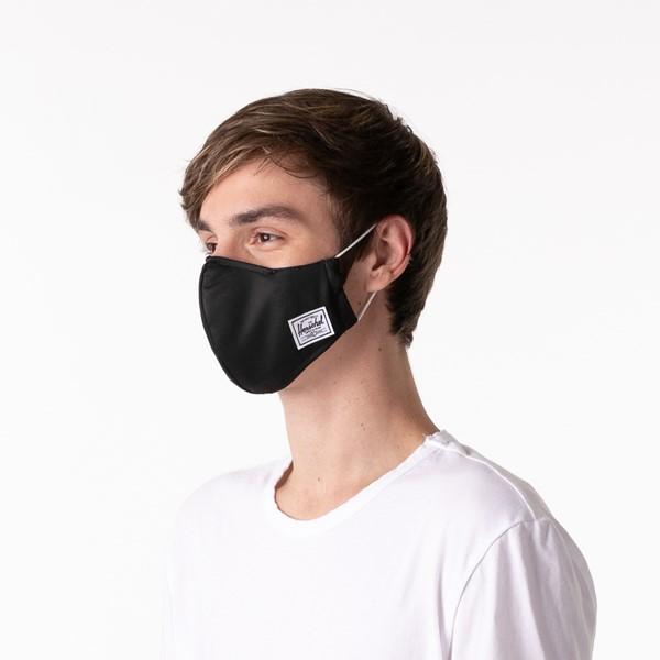 alternate image alternate view Herschel Supply Co. Classic Fitted Face Mask - BlackALT3