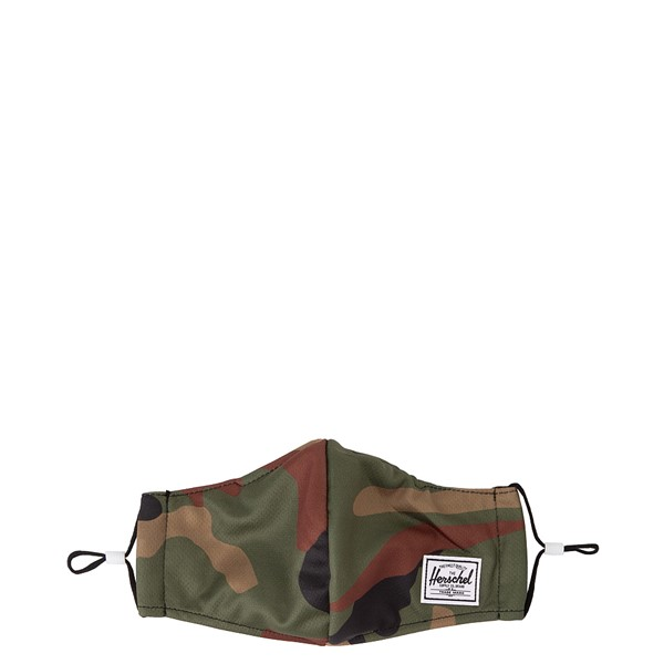 Main view of Herschel Supply Co. Classic Fitted Face Mask - Camo