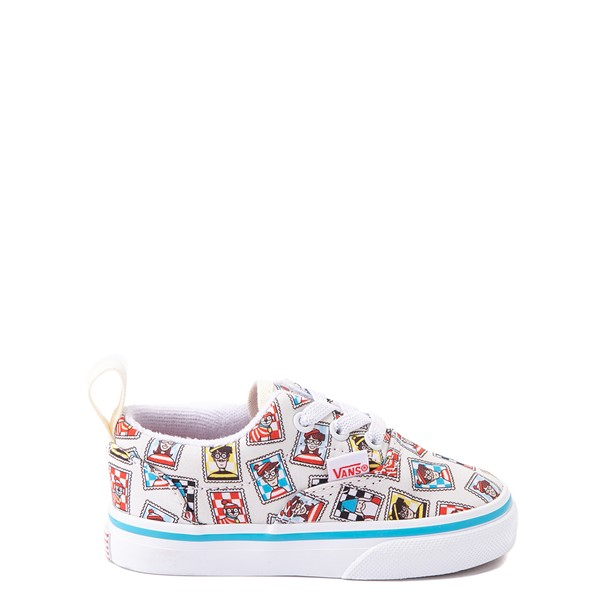 Main view of Vans x Where's Waldo Era Postage Skate Shoe - Baby / Toddler - White