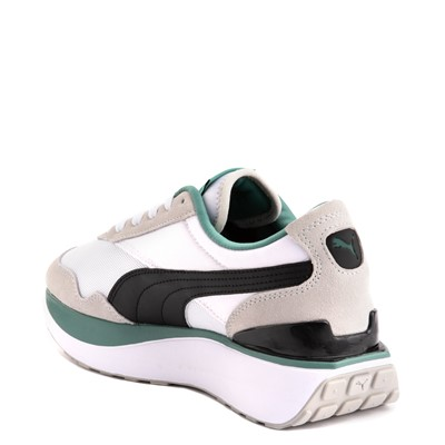 Alternate view of Womens Puma Cruise Rider Platform Athletic Shoe - White / Black / Aquamarine