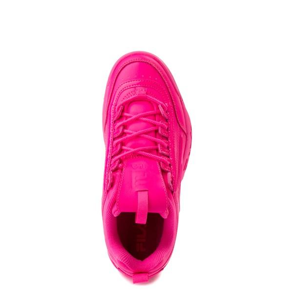 alternate view Womens Fila Disruptor 2 Athletic Shoe - Glow Pink MonochromeALT2