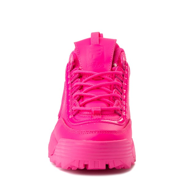 alternate view Womens Fila Disruptor 2 Athletic Shoe - Glow Pink MonochromeALT4