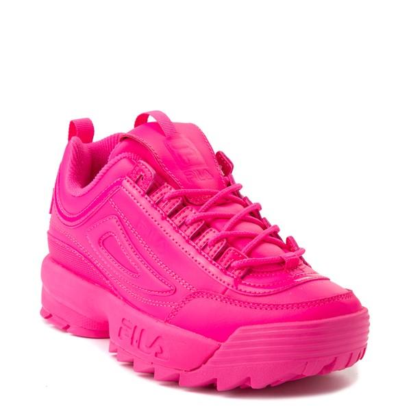 alternate view Womens Fila Disruptor 2 Athletic Shoe - Glow Pink MonochromeALT5