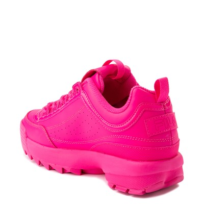 Alternate view of Womens Fila Disruptor 2 Athletic Shoe - Glow Pink Monochrome