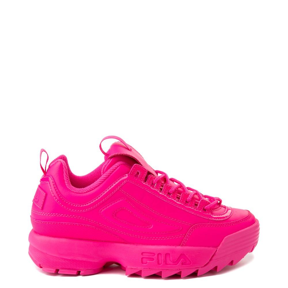 Womens Fila Disruptor 2 Athletic Shoe - Glow Pink Monochrome