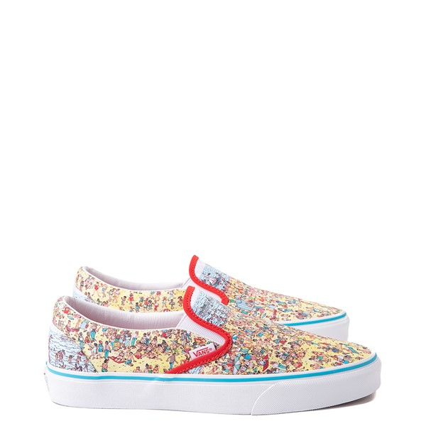 alternate image alternate view Vans x Where's Waldo Slip On Beach Skate Shoe - MulticolorALT1