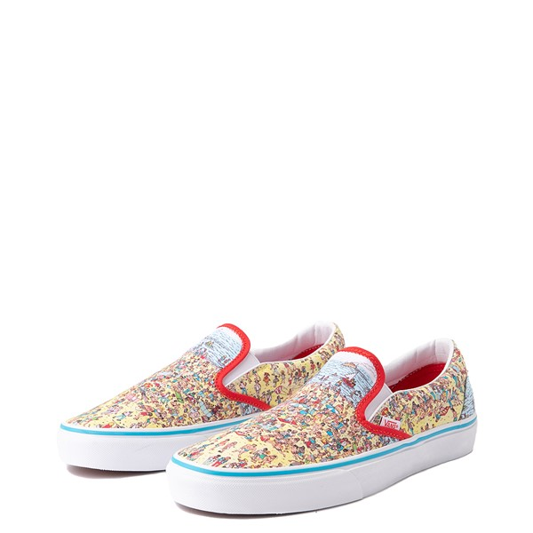 alternate image alternate view Vans x Where's Waldo Slip On Beach Skate Shoe - MulticolorALT2
