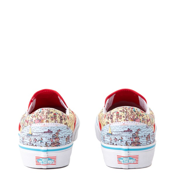 alternate image alternate view Vans x Where's Waldo Slip On Beach Skate Shoe - MulticolorALT4
