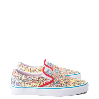 Alternate view of Vans x Where's Waldo Slip On Beach Skate Shoe - Multicolor