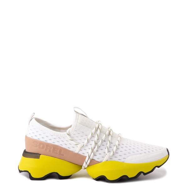 Main view of Womens Sorel Kinetic™ Impact Sneaker - Sea Salt