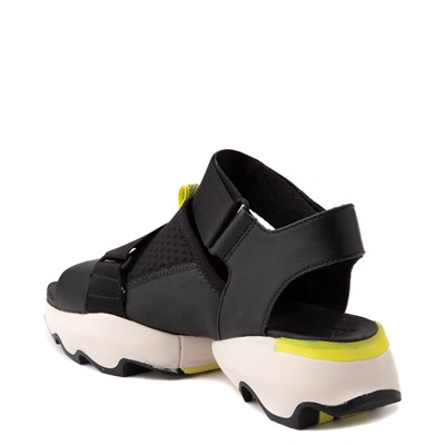 Alternate view of Womens Sorel Kinetic™ Impact Sandal - Black