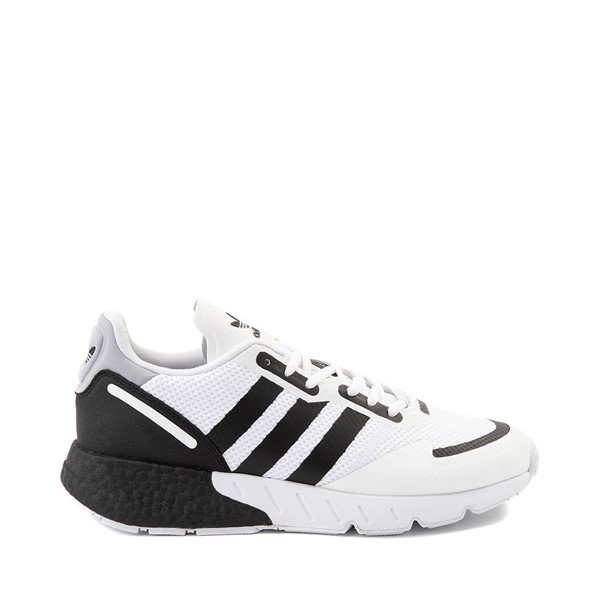 Main view of Mens adidas ZX 1K Boost Athletic Shoe - White / Black