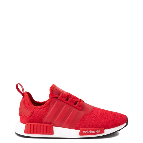 Main view of Mens adidas NMD R1 Athletic Shoe - Scarlet