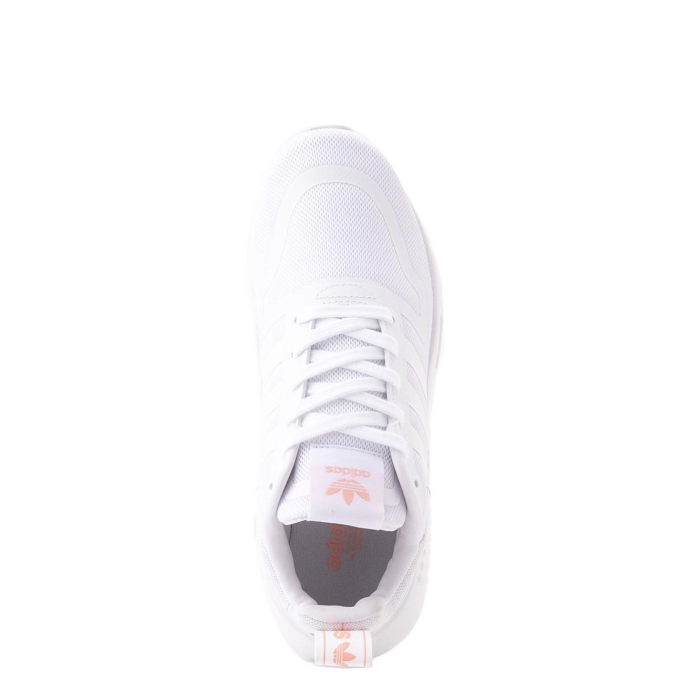 Womens adidas Multix Athletic Shoe - White / Pink
