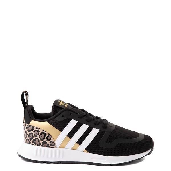 Womens adidas Multix Leopard Athletic Shoe - Black / Gold