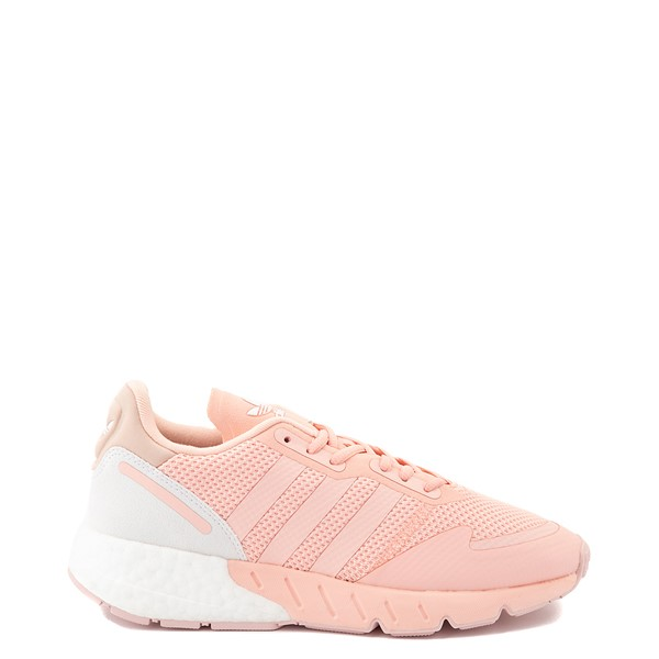 Main view of Womens adidas ZX 1K Boost Athletic Shoe - Glow Pink