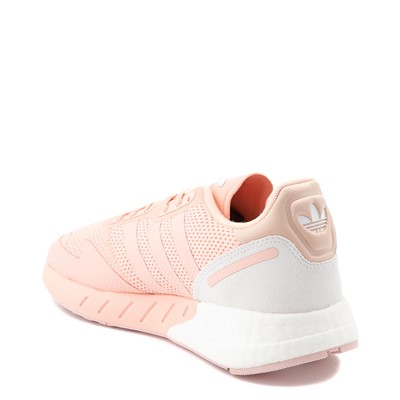 Alternate view of Womens adidas ZX 1K Boost Athletic Shoe - Glow Pink
