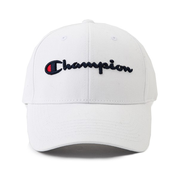 Main view of Champion Classic Twill Dad Hat - White
