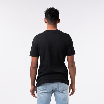 Alternate view of Mens adidas Trefoil Sport Graphic Tee - Black / Multi