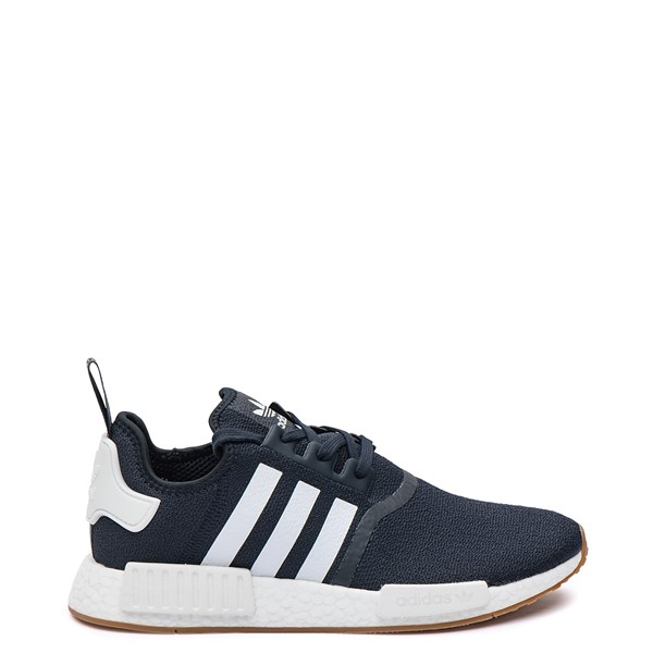 Main view of Mens adidas NMD R1 Athletic Shoe - Navy