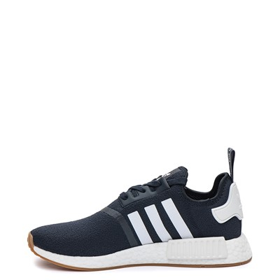 Alternate view of Mens adidas NMD R1 Athletic Shoe - Navy