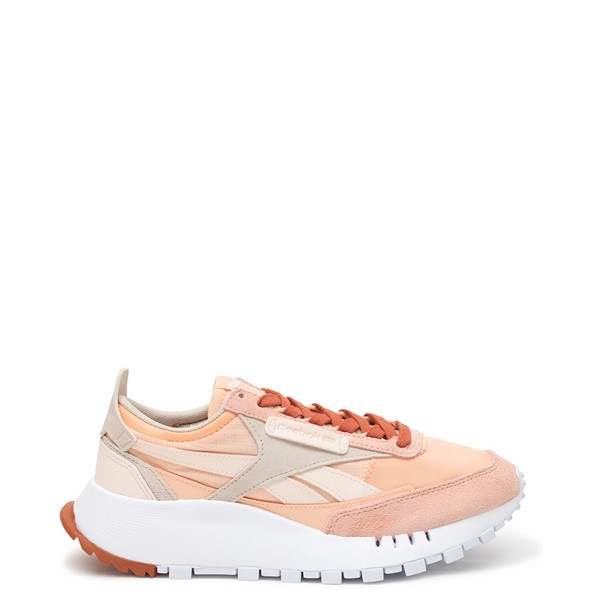 Main view of Womens Reebok Classic Legacy Athletic Shoe - Ceramic Pink / Aura Orange