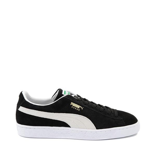Main view of Mens Puma Suede Athletic Shoe - Black
