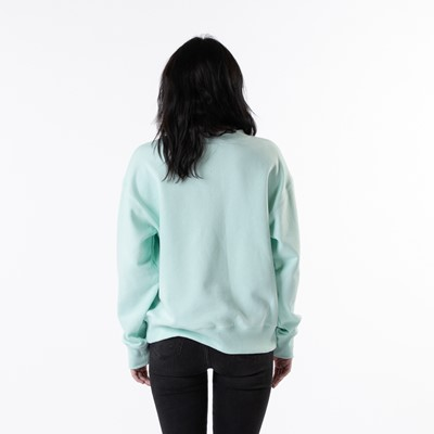 Alternate view of Womens The North Face Parks Slightly Cropped Crew Sweatshirt - Misty Jade