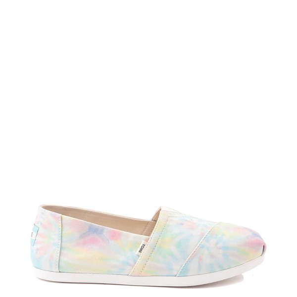 Main view of Womens TOMS Classic Slip On Casual Shoe - Tie Dye