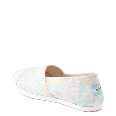 Alternate view of Womens TOMS Classic Slip On Casual Shoe - Tie Dye
